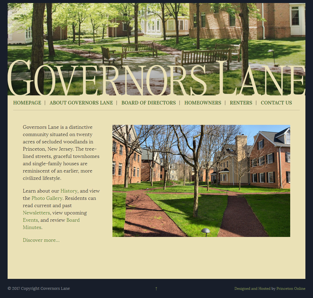 Governors Lane