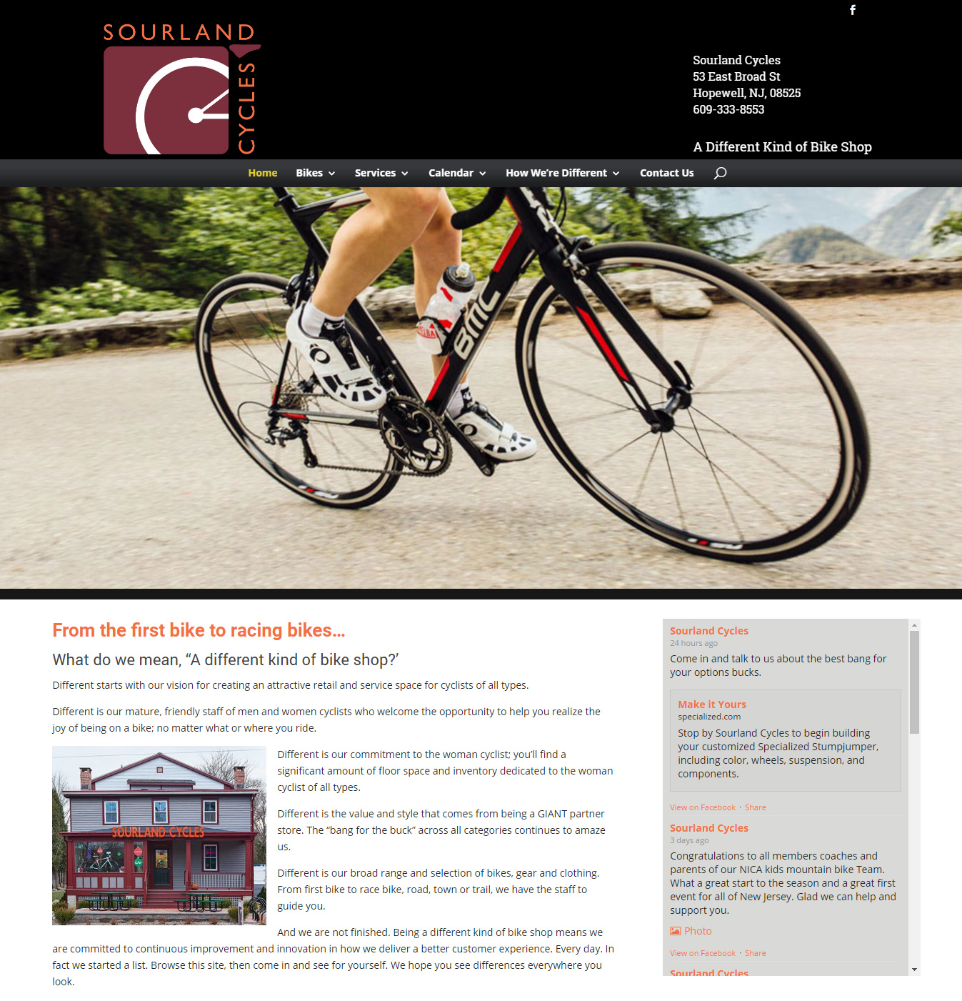 Sourland Cycles
