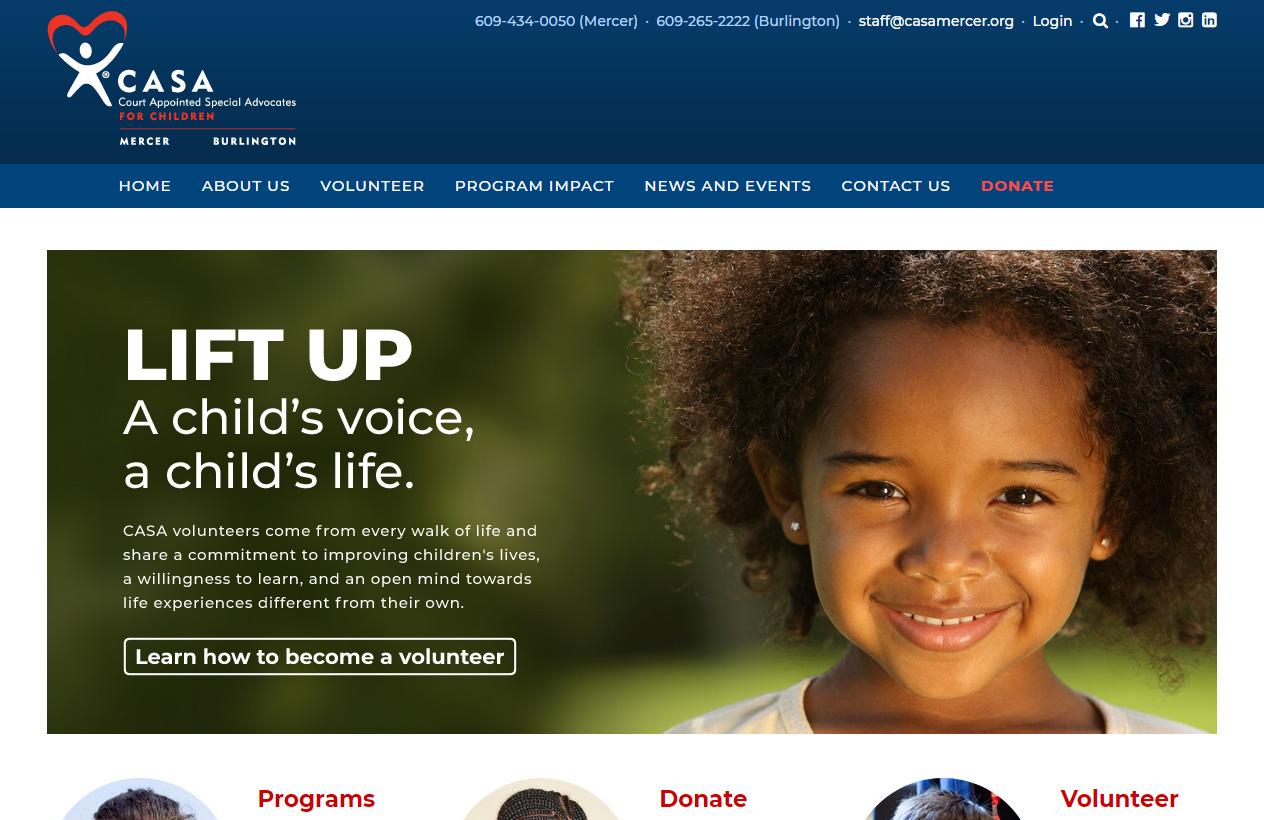 CASA for Children of Mercer and Burlington Counties