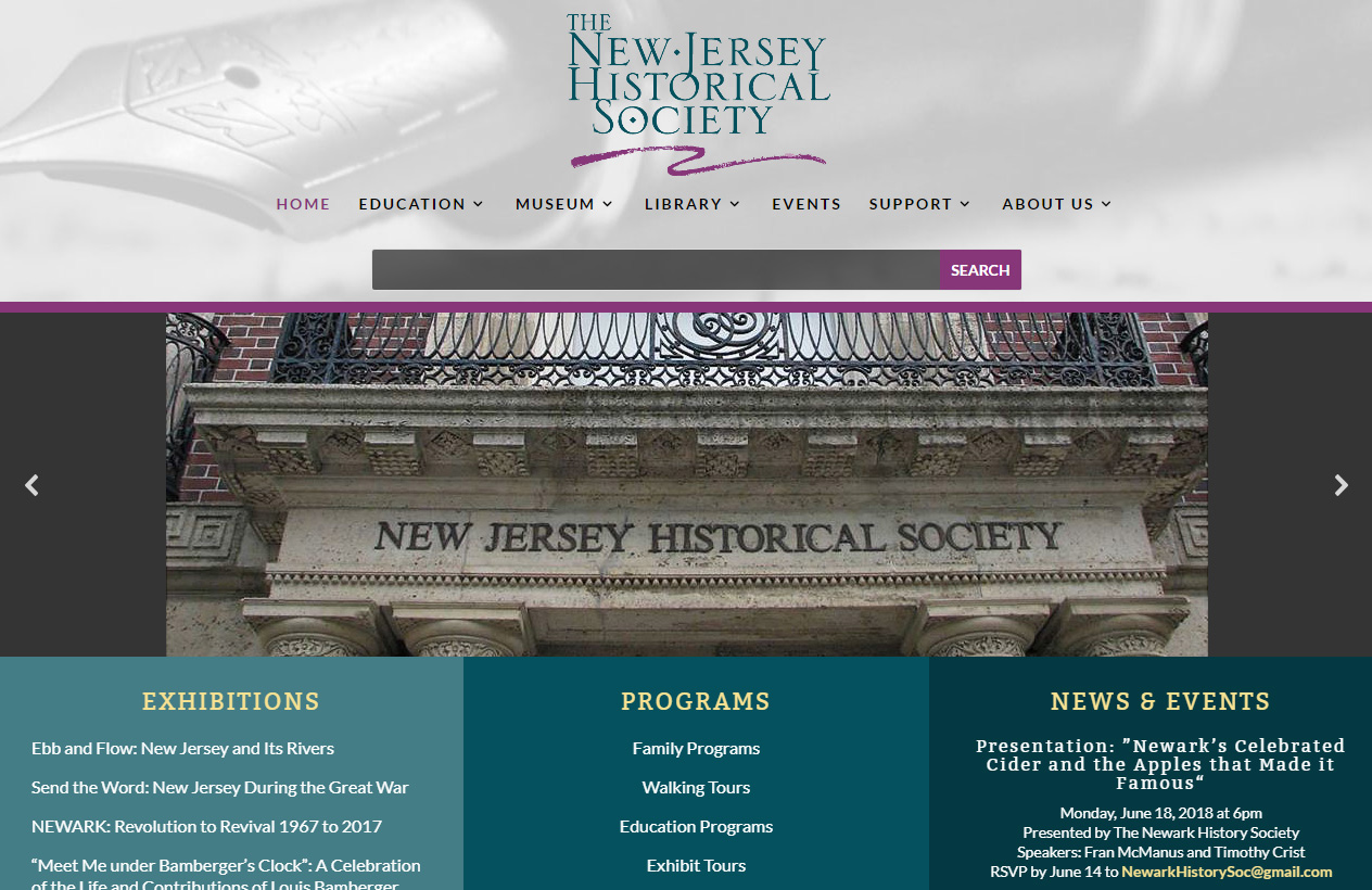 The New Jersey Historical Society